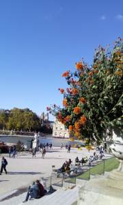 Blue sky at Jardin du Luxembourg - Laura Spoonie