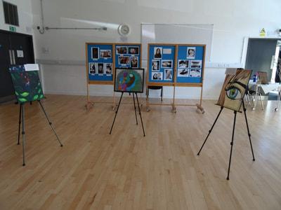 Art Gallery set up