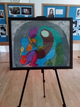 Pastel drawing by Djed Khan-Warsop