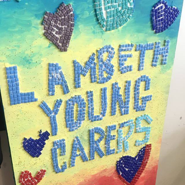 Lambeth Young Carers Mosaic - Laura Spoonie
