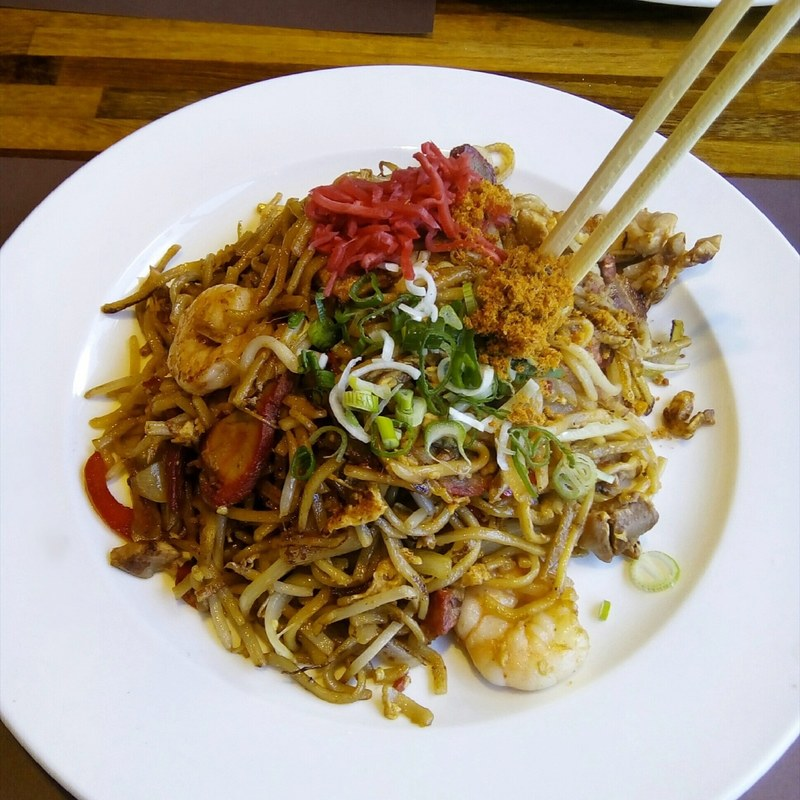 Chilli Yakisoba - Japanese Food (Slurp restaurant) - Laura Spoonie