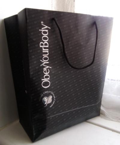 """Gift Bag - """"ObeyYourBody"""""""