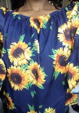 Sunflower top - Laura Spoonie