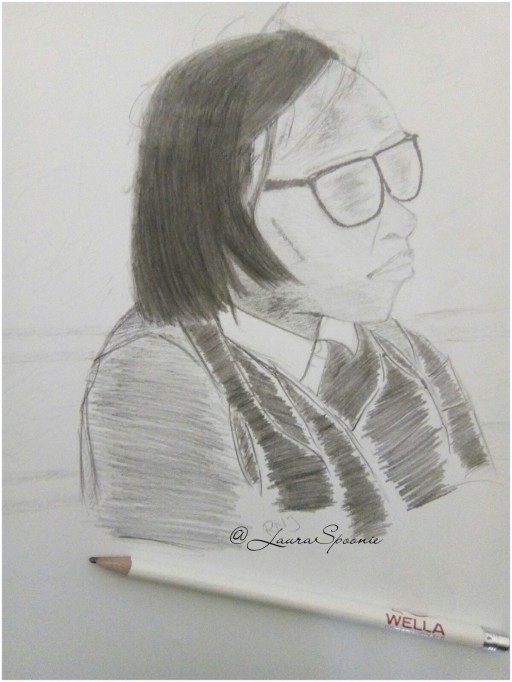 Sharlene (Portrait) - by Laura Spoonie