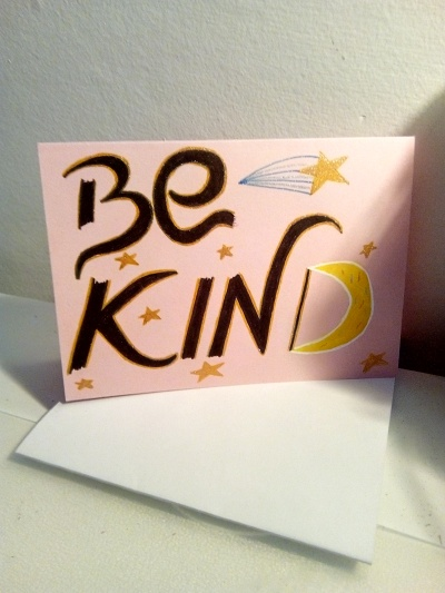 be kind star design - pmu card 1