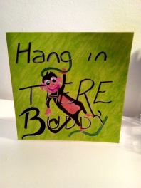 hang in there - pmu card 1