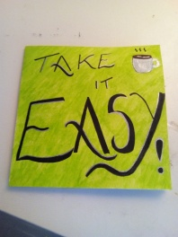 take it easy -pmu card