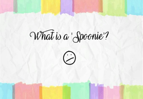What is a 'Spoonie'? - Laura Spoonie