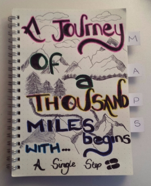 A Journey Of A Thousand Miles Begins With A Single Step - Laura Spoonie