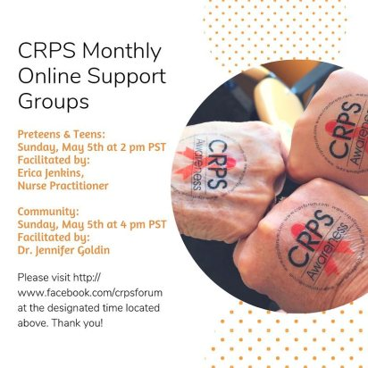 CRPS Monthly Support Forum - Laura Spoonie