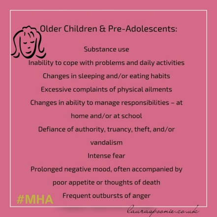 MHA - Older children/pre-adolescents relapse - Laura Spoonie