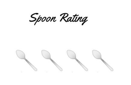Spoon Rating 4 - Laura Spoonie