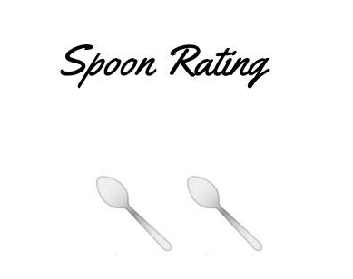Spoon Rating 2 - Laura Spoonie