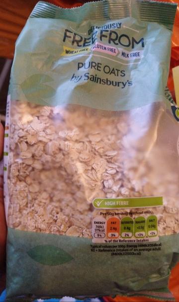 Gluten-Free Pure Oats - Laura Spoonie