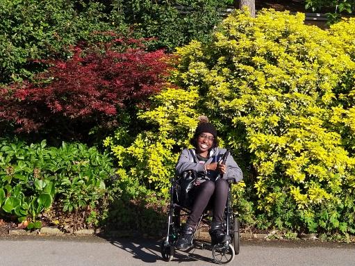 A Smile - Kew Gardens - Laura Spoonie