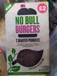 Vegan No Bull Burger - Laura Spoonie