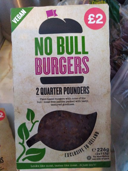 Vegan No Bull Burger - Laura Spoonie