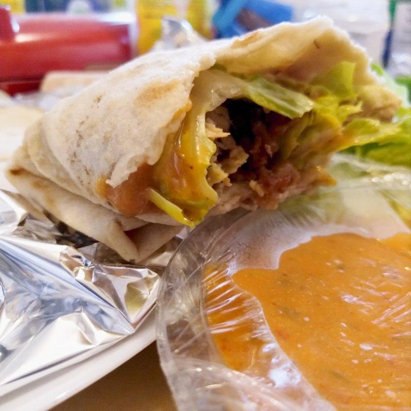 Vegan Roti Wrap - Laura Spoonie
